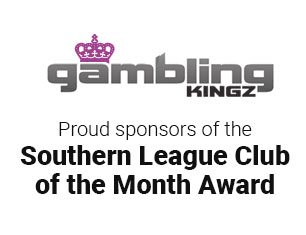 Southern Football League Club of the Month Awards sponsored by GamblingKingz.co.uk