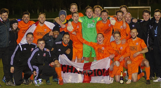 Hartley win Combined Counties Premier Division Title
