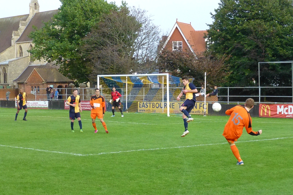 Eastbourne Town v Hartley Wintney, FA Cup 13-14