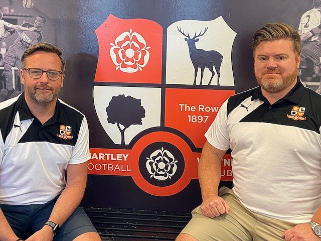 Hartley Wintney U23 Development Management team