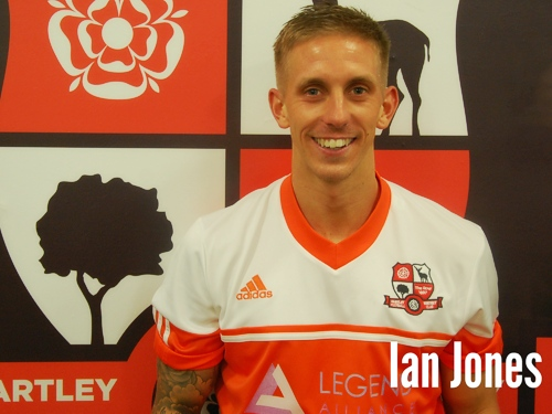 Ian Jones, Hartley Wintney FC