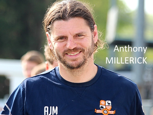 Anthony Millerick, Manager, Hartley Wintney FC