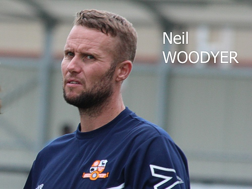 Neil Woodyer, First Team Coach, Hartley Wintney FC