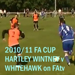 FA Cup Hartley Wintney v Whitehawk