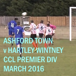 Ashford Town v Hartley Wintney 2016