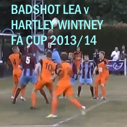 Badshot Lea v Hartley Wintney, FA Cup