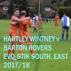 Hartley Wintney v Barton Rovers