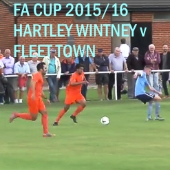 Hartley Wintney FC match video v Fleet Town