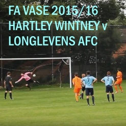 Hartley Wintney FC match video v Longlevens AFC